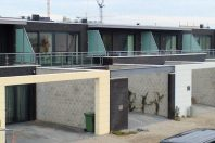 Woningen op het Kleine Rieteiland te IJburg