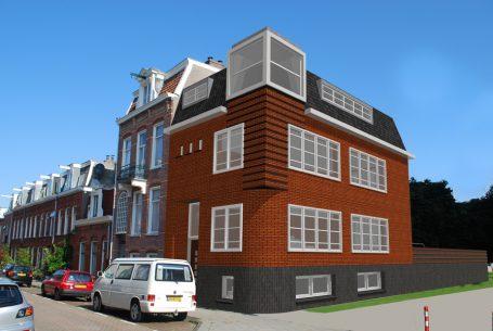 Woonhuis met praktijkruimte Amsterdam