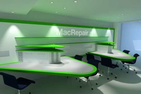 Reparatie afdeling Mac Repair shop