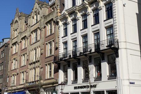 Winkels en appartementen aan het Rokin